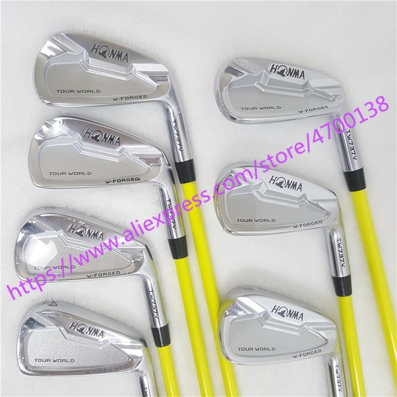 Golf Clubs irons set HONMA TW737V Golf iron set 4-9 10 Clubs N S.PRO Steel Graphite Golf shaft R/S Flex Free shipping
