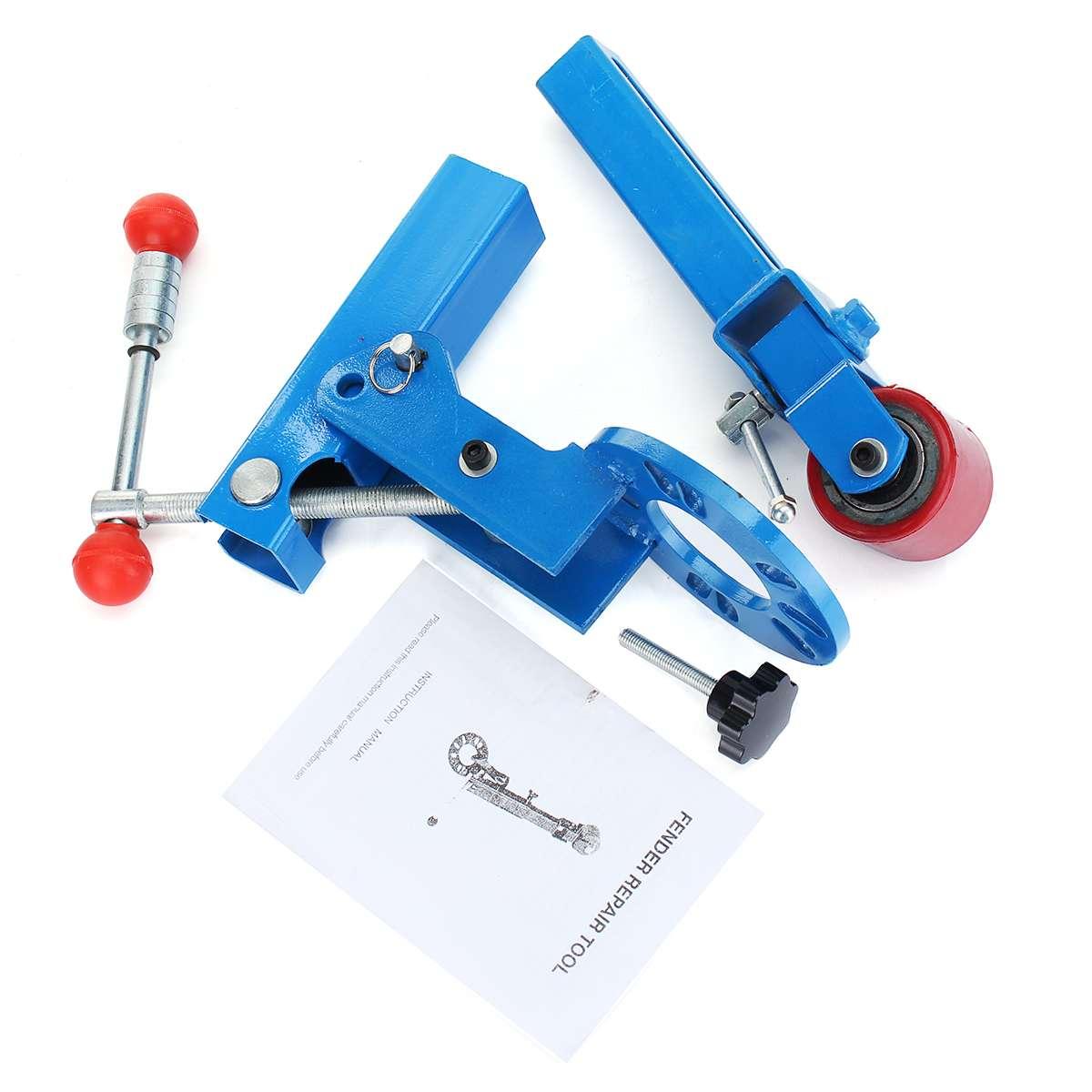 Rouleau bleu pour Fender Réforme L'extension Outil Roue Rouleau Torchage Ancien Lourd Pièces De Machines à bois - 6