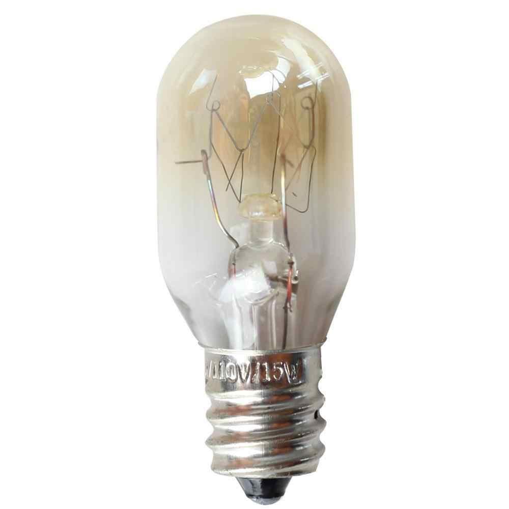 E12 110 V 15 W מלח קריסטל אור טמפרטורת עמיד הנורה עבור מקרר תנור מיקרוגל תאורה-30