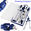 1 Set Construction Engineering Professional Hand Drawing Tool Adjustable Precision Drafting Drawing Compass for Metal Machinery