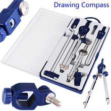 1 Set Construction Engineering Professional Hand Drawing Tool Adjustable Precision Drafting Drawing Compass for Metal Machinery authentic hero 23pcs lot h4023 mechanical drawing instrument engineering drawing metal compasses set
