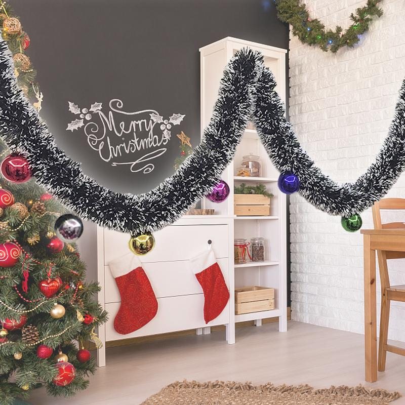 Sale On Christmas Tree Decorations: 2 M Christmas Decorations Ribbon Garland Christmas Tree