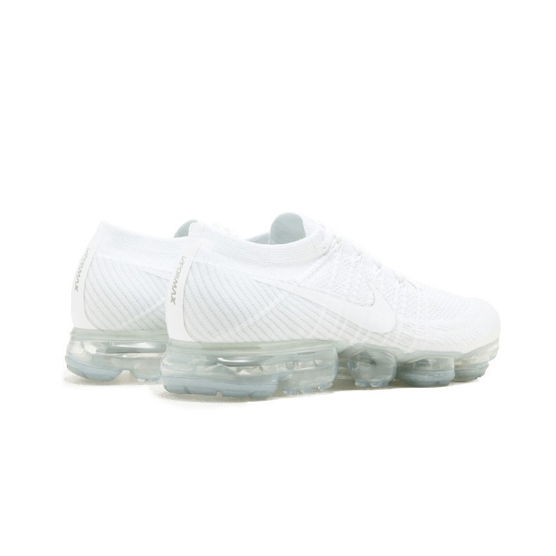 Nike Air Vapormax Flyknit Original Men Running Shoes White Breathable Non Slip Sports Sneakers 849558 004