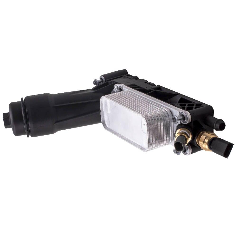 Pour le logement de filtre de refroidisseur d'huile de moteur de Jeep Dodge Chrysler 3.6L V6 5184294AE 2011-2013