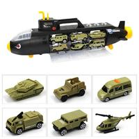 For P863 A Military Submarine Car Medium Toy Car Tank Aircraft Model Military Submersible Vehicle Toy Car Tank Aircraft Model