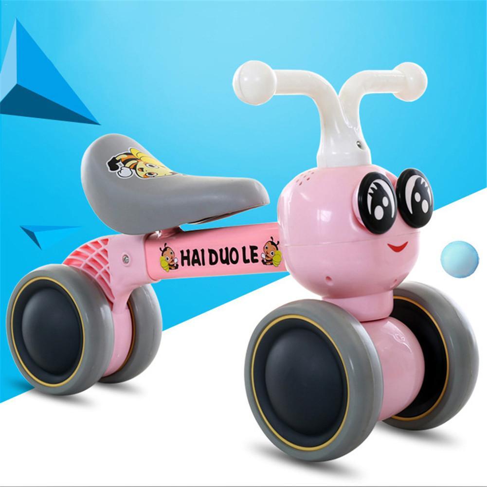 Bébé Balance vélo marcheur enfants monter sur jouet cadeau pour 10-36 mois enfants pour l'apprentissage marche Scooter