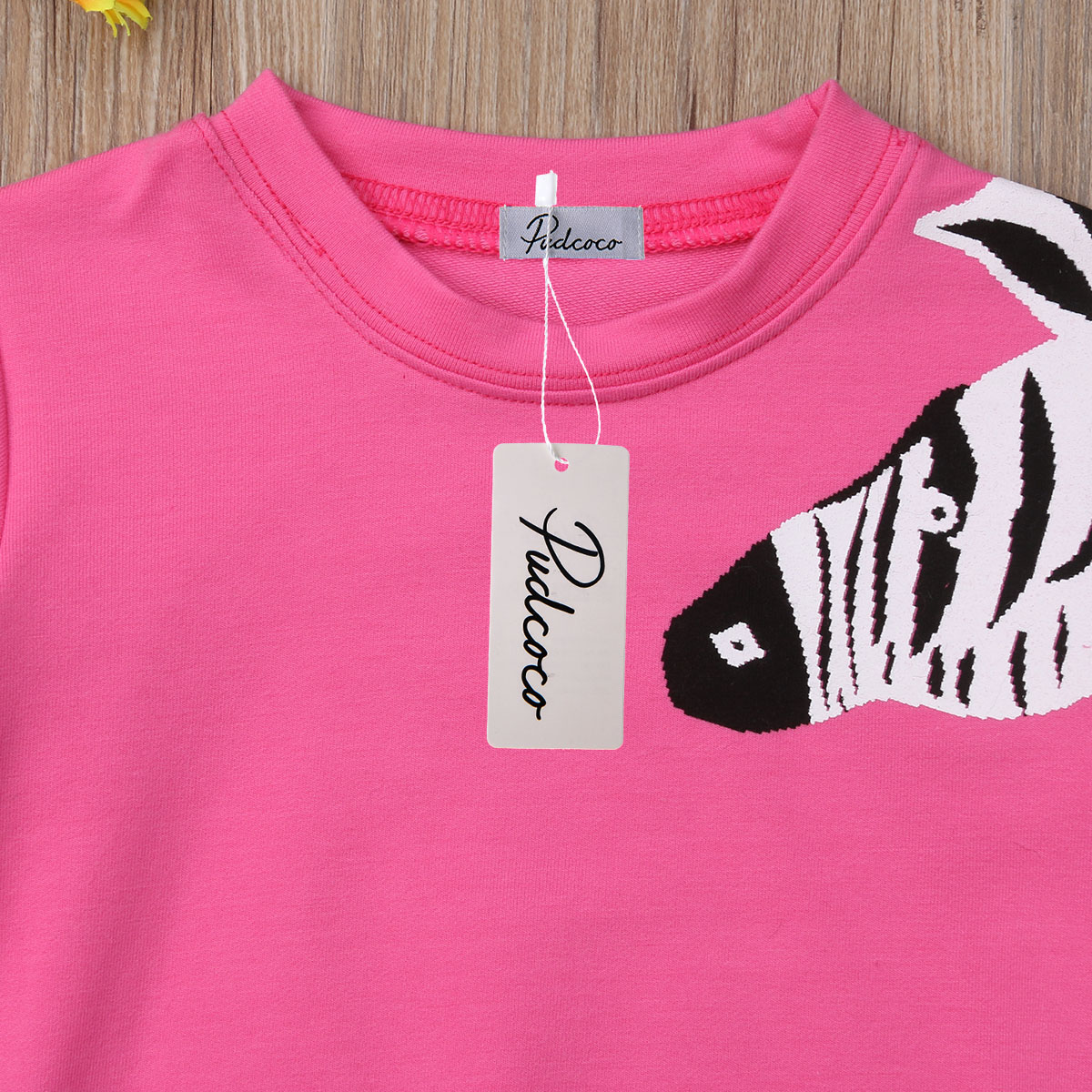 Newborn Baby Girl Clothes Cotton Tassels Top Coat Warm Animla Print Sweatshirt Clothes 1 6T in Tees from Mother Kids