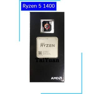 Image 2 - AMD Ryzen 5 1400 R5 1400 3.2 GHz Quad Core CPU Processor YD1400BBM4KAE Socket AM4