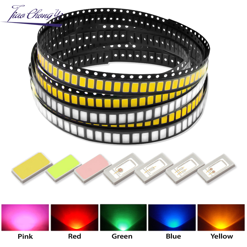 SMD 5730 / 5630 Chip LEDs Warm White Blue Red Green Yellow Pink  Light Diode Beads For LED Strip Spotlight Bulb Diode Lamp Diy