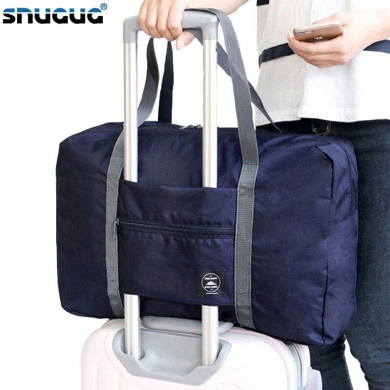 Reisetaschen Nachdenklich Nylon Faltbare Reisetaschen Handtaschen Wasserdichte Taschen Für Business Und Reise Große Kapazität Schulter Taschen Schulter Hand Tasche Schnelle WäRmeableitung