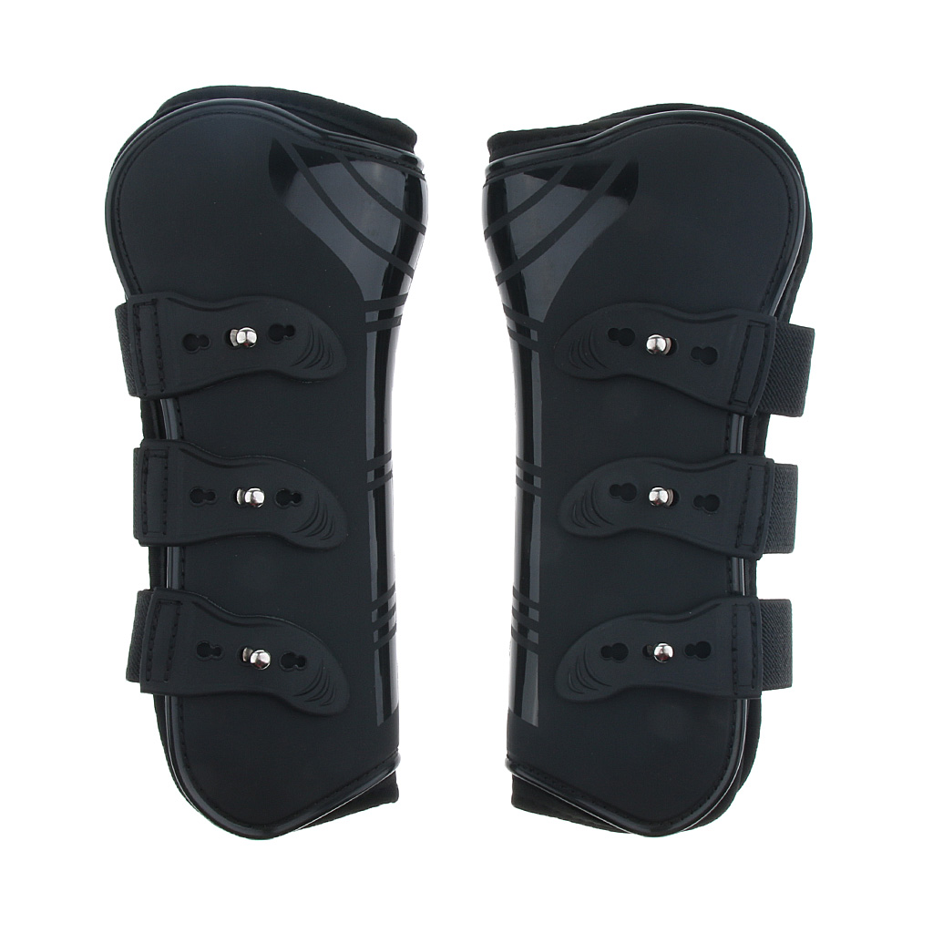 Купить с кэшбэком Horse Exercise Jumping Boots Open Front Jumping Tendon Boot & Fetlock Boots