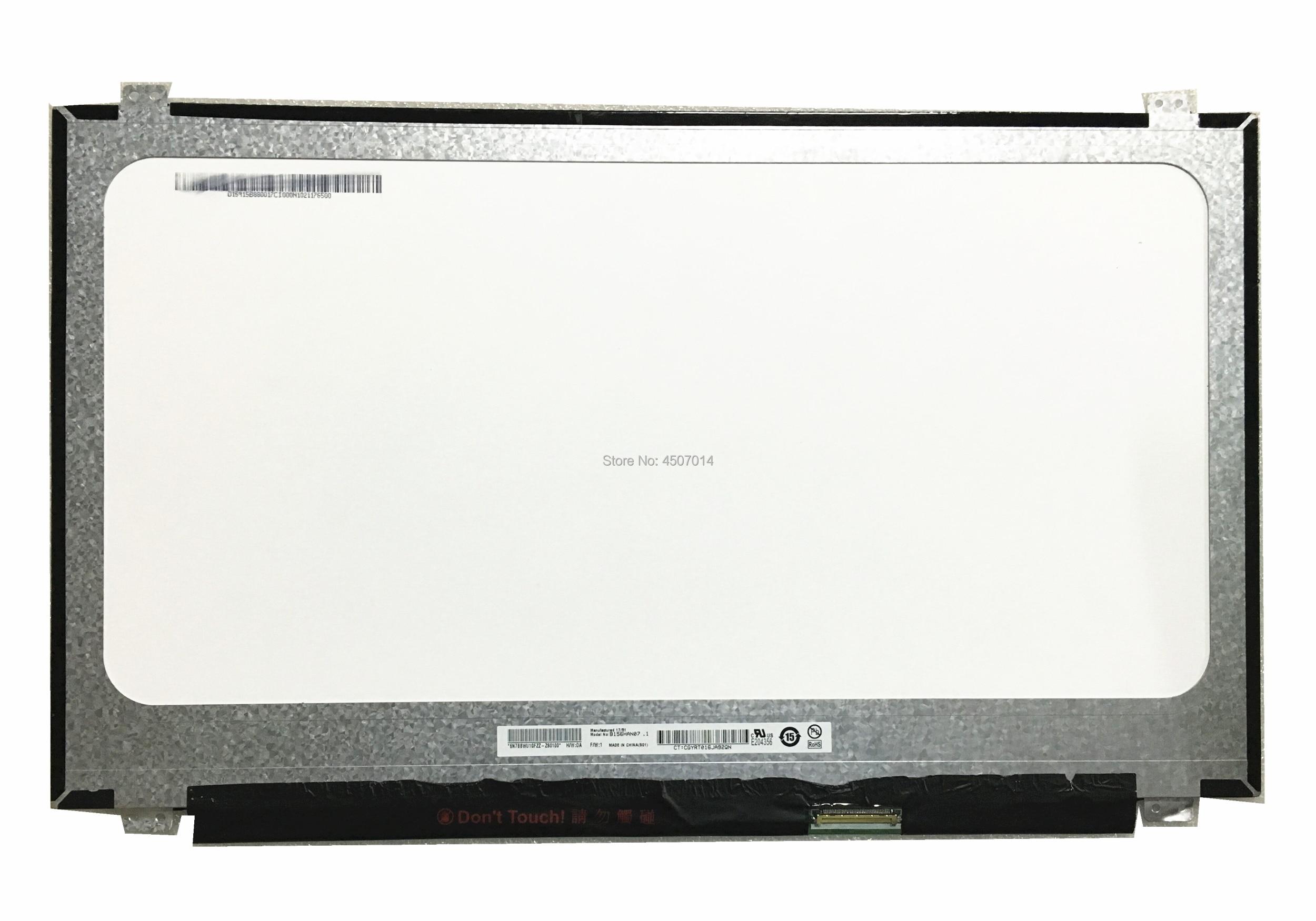 Free Shipping B156HAN07 1 B156HAN07 0 15 6 inch IPS Laptop Lcd Screen 1920 1080 EDP
