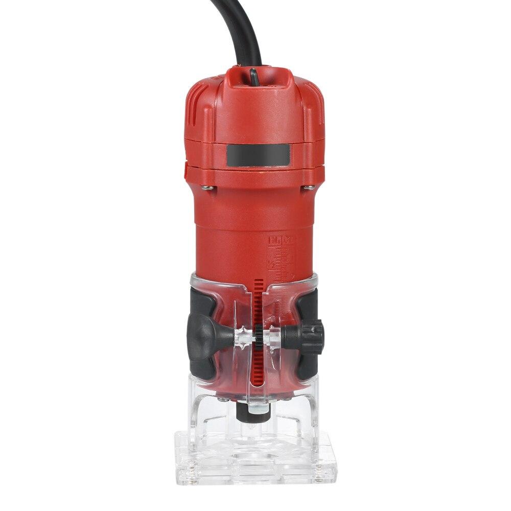 850W 30000rpm tondeuse électrique à bois fraisage gravure Machine de découpage à rainurer main sculpture Machine bois routeur - 6