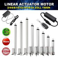 Wolike 150KG 1500N 4 18 Inch 330lbs DC 12V Electric Motor Linear Actuator For lectric Self Unicycle Scooter Input Voltage Range