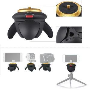 Мини Bluetooth дистанционная электрическая панорамная головка с поворотом на 360 градусов, головка штатива для экшн-камеры GoPro, селфи-палка