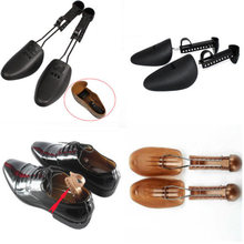 Brand New Style 2 Pcs Plastic Adjustable Way Shoe Stretcher Maintain Shape Shoes Tree Men/Women(China)