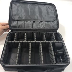 Image 5 - Make up Tasche Organizer Professionelle Make Up Künstler Box Größeren Taschen Nette Korea Koffer Make Up Koffer mode kosmetik tasche Fall