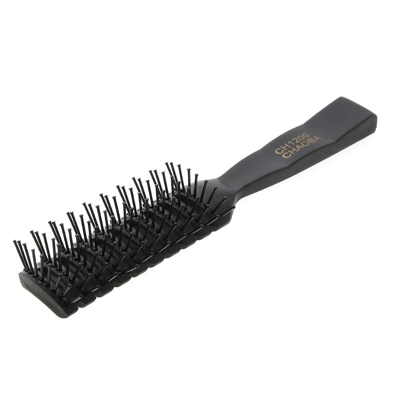 Купить с кэшбэком 1Pcs Curl Hair Comb Hair Beatifying Heat Resistant Massage Comb Curly Professional Hairdressing Combs Haircare Styling Tools
