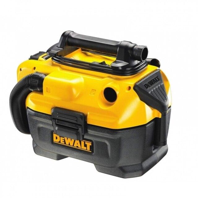 Пылесос для сухой и влажной уборки DeWalt DCV582 (Мощность 450 Вт, объём пылесборника 7,5 л, HEPA фильтр, сбор жидкости, функция выдува, работает от аккумуляторных батарей 14,4В, 18,0В)