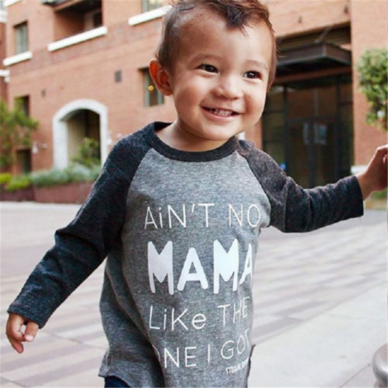 PUDCOCO Toddler Kids Boys Cotton Long Sleeve Casual Tops T-shirt Tees Clothes
