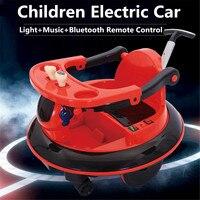Ездить на автомобилях Открытый Детский электромобиль пульт дистанционного управления машин для мальчиков и девочек езды на автомобиле игр