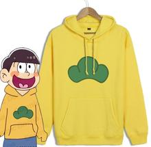 Anime Mr Osomatsusan Cosplay Costumes Coat Hoodies Osomatsu san 2 Embroidery Sweatshirts Sweater