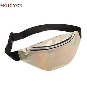 Waist-Bag Fanny-Pack Bum Laser Steam Punk Reflective Fashion Women's Multi-Function Pochete