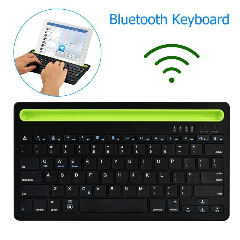 Clavier Bluetooth sans fil double canal avec pavé tactile pour iOS Android Win 168*327*36mm/6.61*12.9*1.42