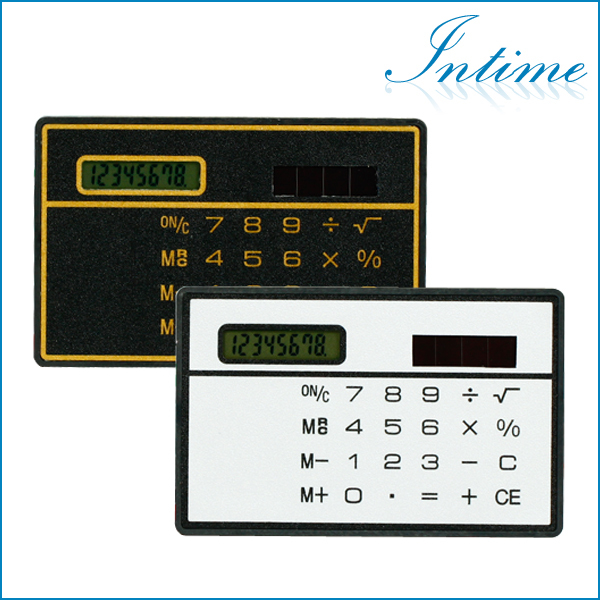 Free Shipping Mini Slim Credit Card Calculator Sol...