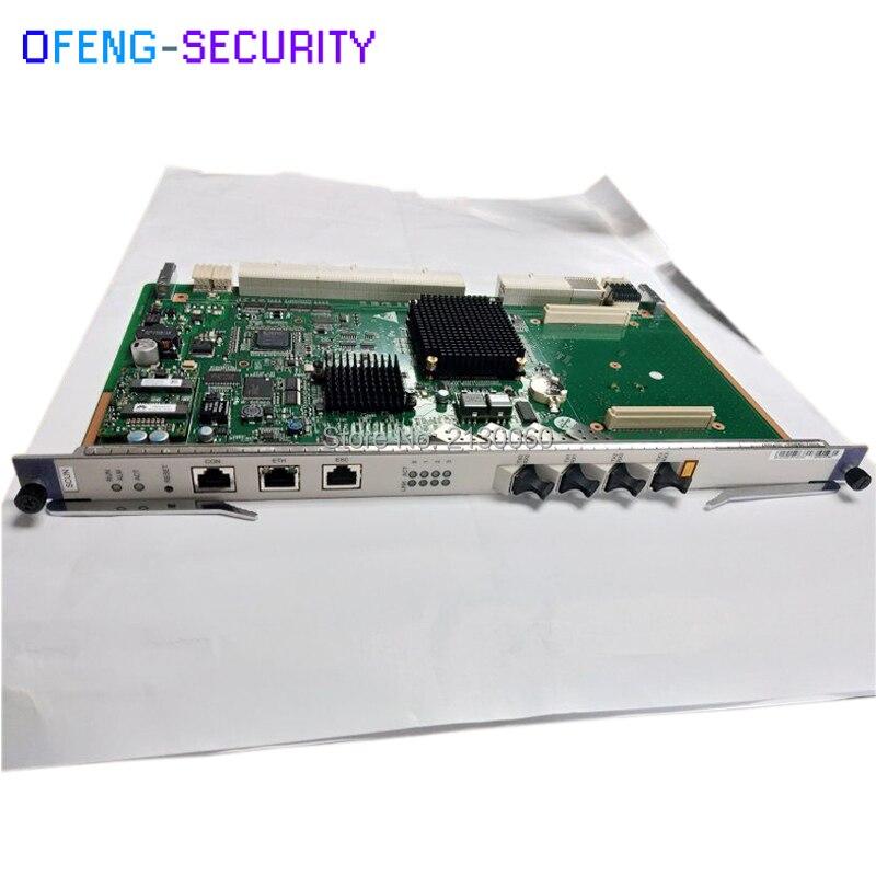 Huawei SCUN Control Board For OLT MA5680T/MA5683T/MA5600T/MA5603T/MA5608T, 4 GE Uplink Ports