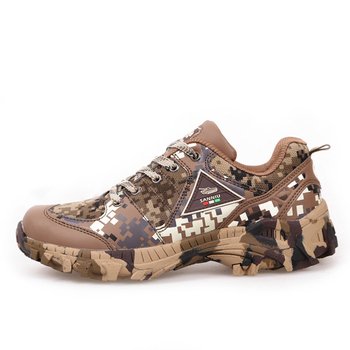 Spring Autumn Outdoor Climbing Camo Sneakers Shoes Men Hiking Hunting Camping Army Training Ultralight Breathable Sports Shoe 4