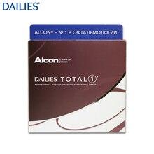 Контактные линзы DAILIES TOTAL 1(90 шт) R: 8.5