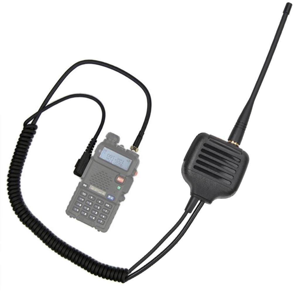 K Head Speaker Mic Walkie Talkie Hand Microphone For TYT-300/500/600/800/900/9900 New