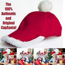 Красные рождественские шляпы, шляпы Санты, декоративные шляпы для детей, взрослых, новогодние подарки