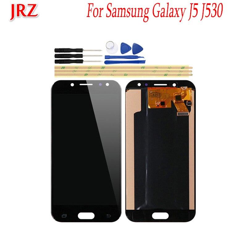 OLED pour Samsung Galaxy J5 J5 Pro 2017 J530 J530F écran LCD et écran tactile 5.2 ''écran numériseur assemblage remplacement + outils
