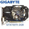 Gigabyte GV-n750TD5-2Gl GTX750TI GTX 750TI 2GB 2G  D5 DDR5 128 Bit  PC Desktop Graphics Cards  computer  Graphics Cards