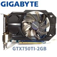 Gigabyte GV n750TD5 2Gl GTX750TI GTX 750TI 2GB 2G D5 DDR5 128 Bit PC Desktop Graphics Cards computer Graphics Cards