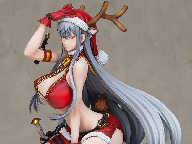 Resin Figure Kit 1 7 Valkyria Chronicles Selvaria Bles Xmas Party Unpainted Garage Resin Kit