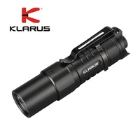 KLARUS XT1C 2018 Tactical EDC flashlight CREE XP L HD V6 max 1000 lumen Mini torch 178 meter with 16340 rechargeable battery