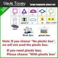 Vavis Tovey 30 200pcs Standard DIY magic magnet pulling Magnetic building blocks assembled gifts children