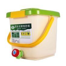 Bico de compostos para cozinha 12l, lata de lixo orgânica dos pp para compostos de cozinha, jardim, desperdício