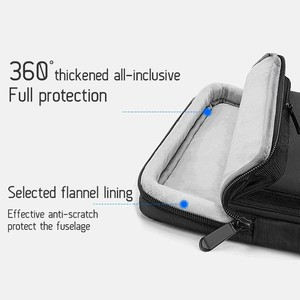 Image 3 - 새로운 핸드백 노트북 슬리브 가방 휴대용 비즈니스 서류 가방 맥북 13.3 15.6 인치 노트북 케이스 방수 고용량 가방