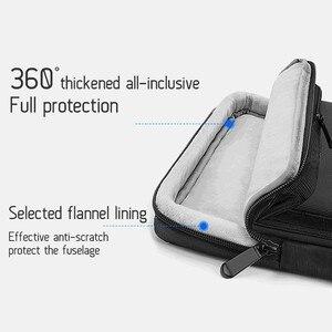 Image 3 - Túi xách mới máy tính xách tay tay áo túi Xách Tay Kinh Doanh Vali cho Macbook 13.3 inch 15.6 Máy Tính Xách Tay trường hợp không thấm nước công suất Cao túi