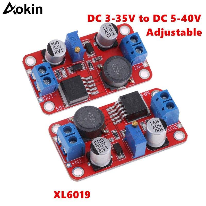 XL6019 step-up step-down Dc zu Dc 3-35 V zu 5-40 V Einstellbar konverter Netzteil Modul 5A Max Step Up Power Supply Converter