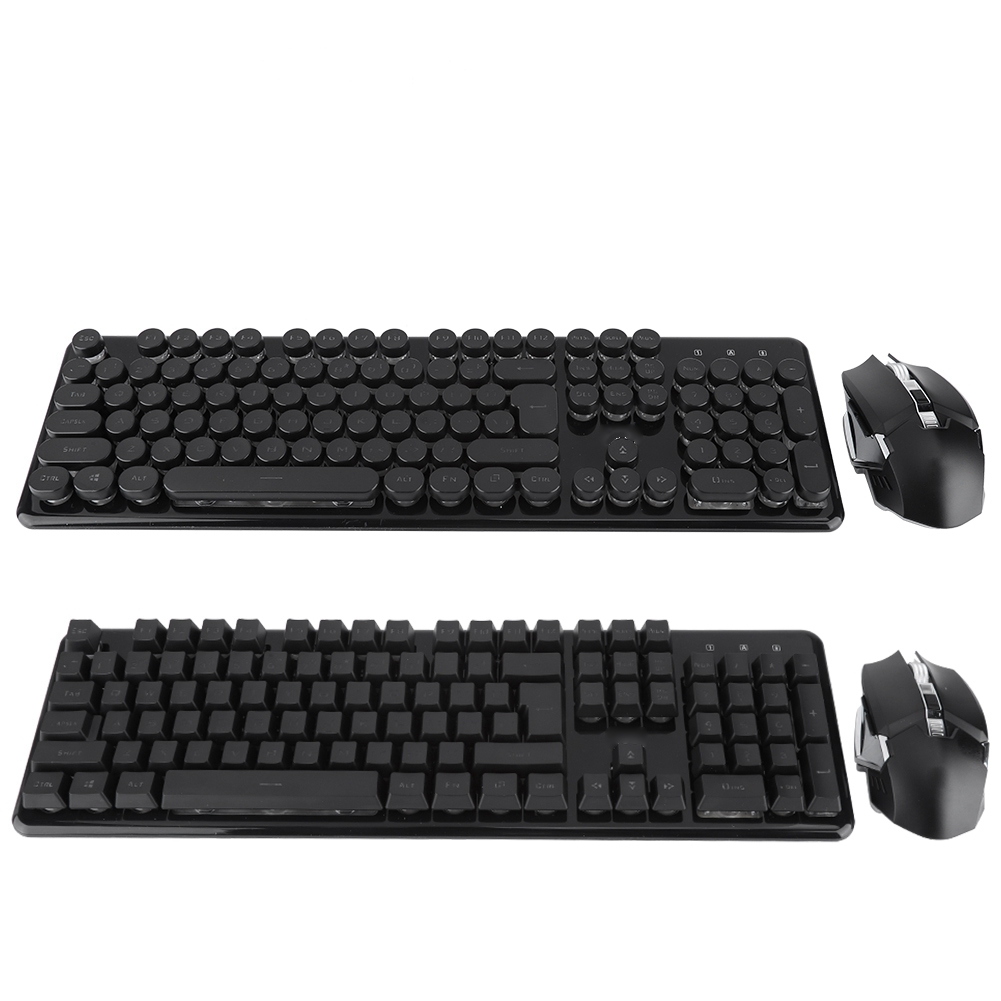 Universal External Keyboard -L28914026.5mm Portable Unlimited Home Office Game Computer Keys Color : Red Wireless Keyboard And Mouse Set
