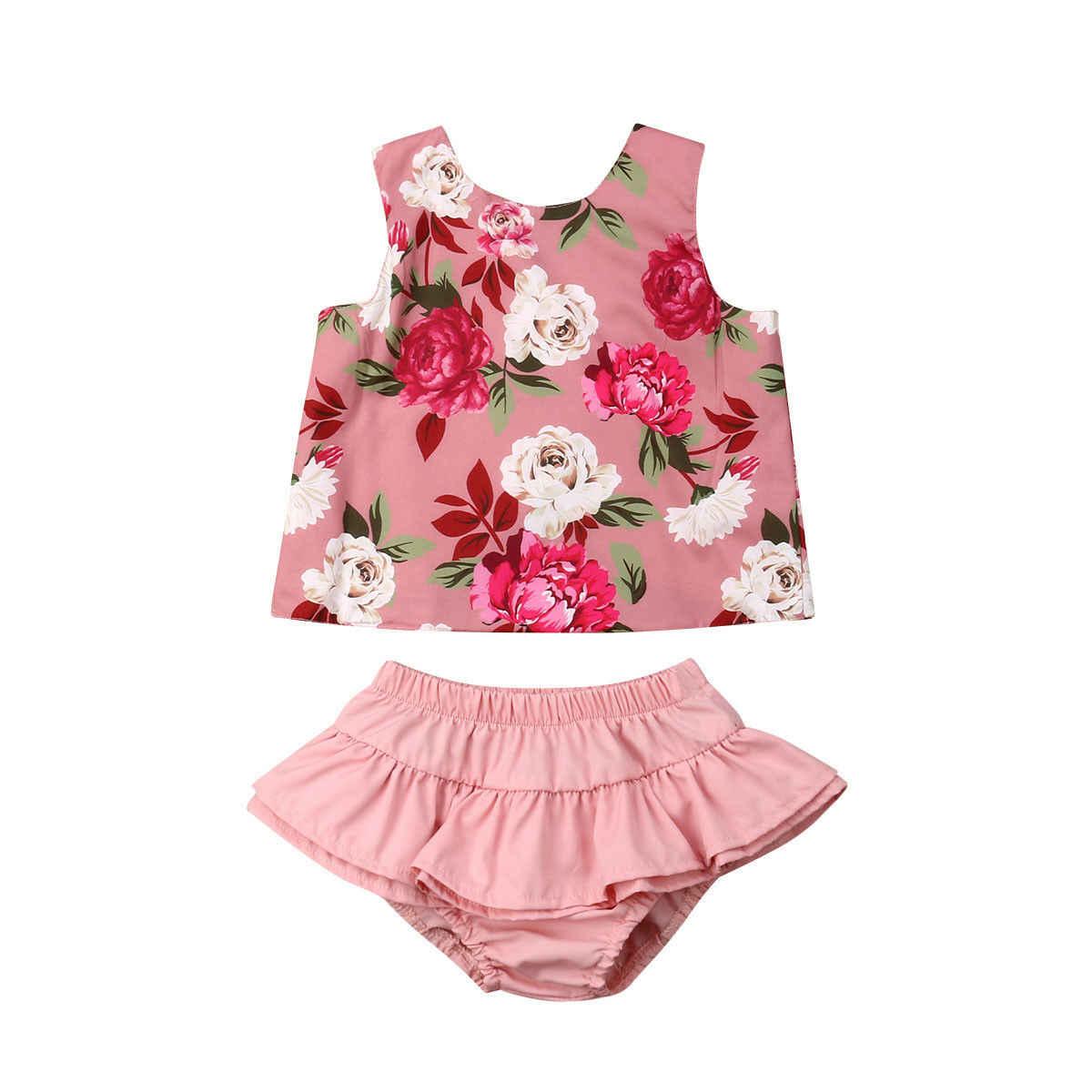 2 шт. Emmababy 2019 Новое Фирменное летнее платье для детей одежда новорожденных с
