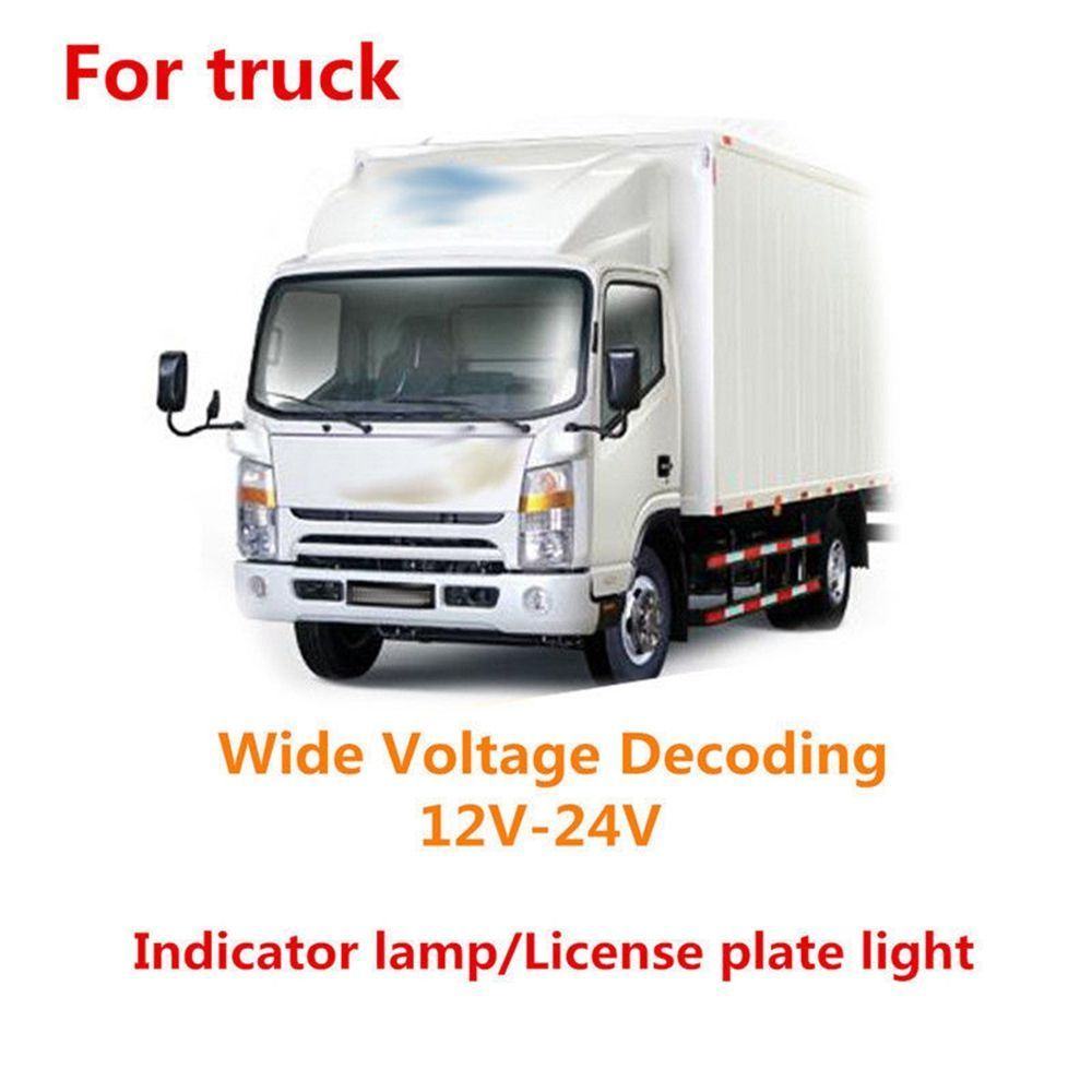 Image 5 - 2pcs 3W T10 194 168 W5W LED Car Glass License Plate Lights White brand new and high quality Suitable for car as well as truck-in Truck Light System from Automobiles & Motorcycles