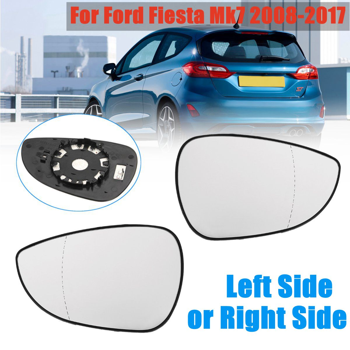 Set of 2 L/&R Rearview Door Mirror Sun Rain Deflector For Ford Escape 2013-14