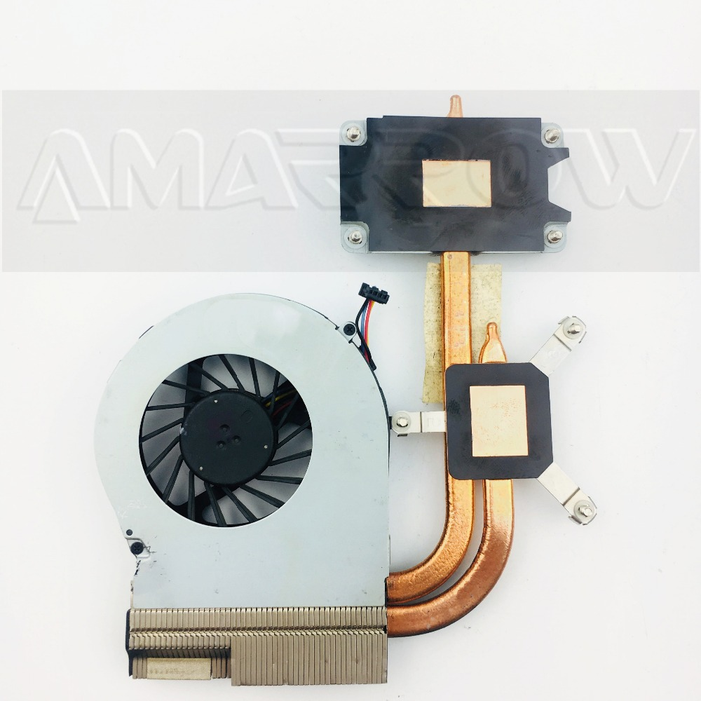 Original For HP Pavilion G4 G6 G7 G4-2000 G6-2000 Cooling Heatsink With Fan 712114-001 Fixed CPU