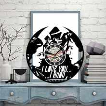 7101a5d94060e 3D horloge murale disque vinyle Conception Mode Horloge CD Disque Vinyle  horloge murale décoration d'intérieur Suspendus Montres.